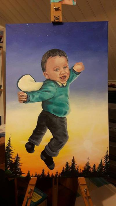 Super-hros baby by fab-garou