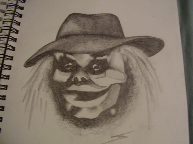 Puppet Master Drawing