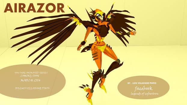 AIRAZOR MY VERSION FAN ART