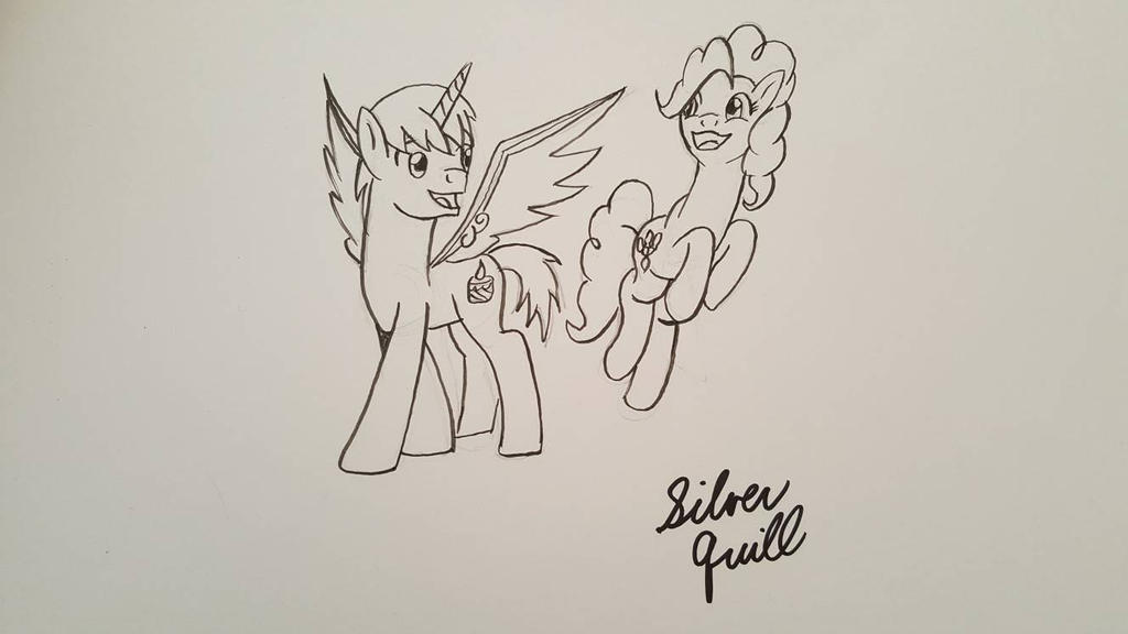 Frost and Pinkie by StarVagrant