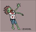 Pixel Zombie. by Zwickel