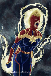Captain Marvel by horse1313
