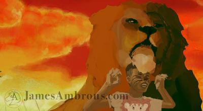 Lion n cub