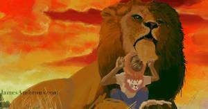 Lion and cub v2