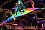 Selena Gomez Rainbow Wallpaper