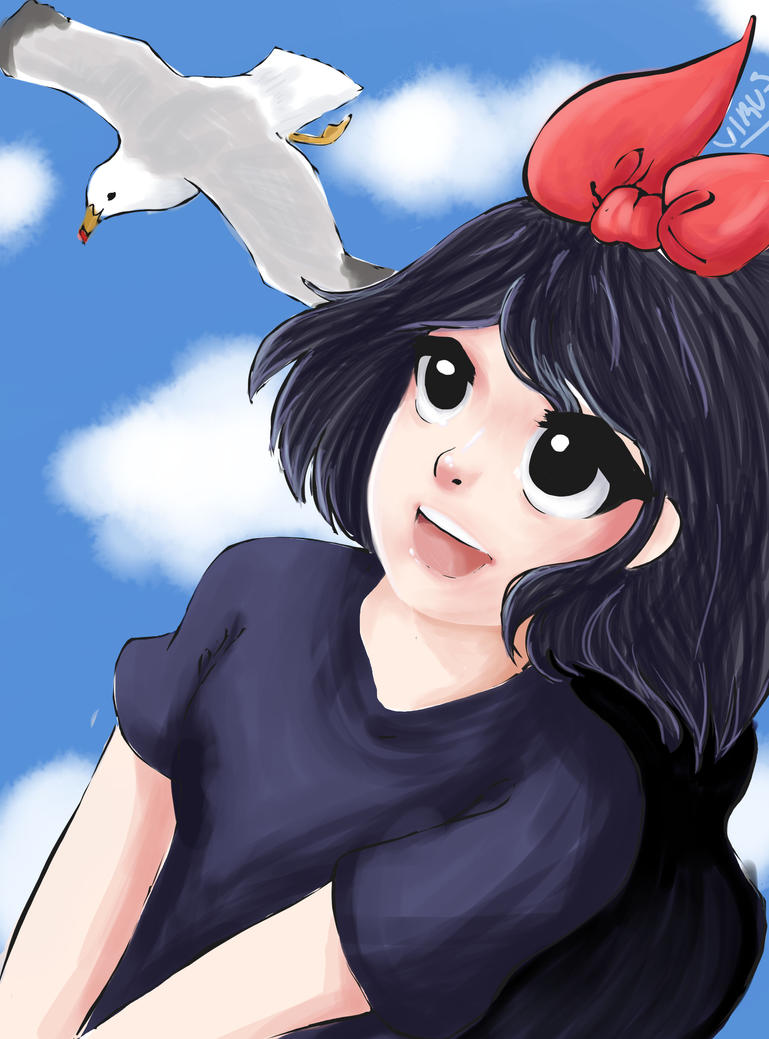 Kikis delivery service by Virusdrawss