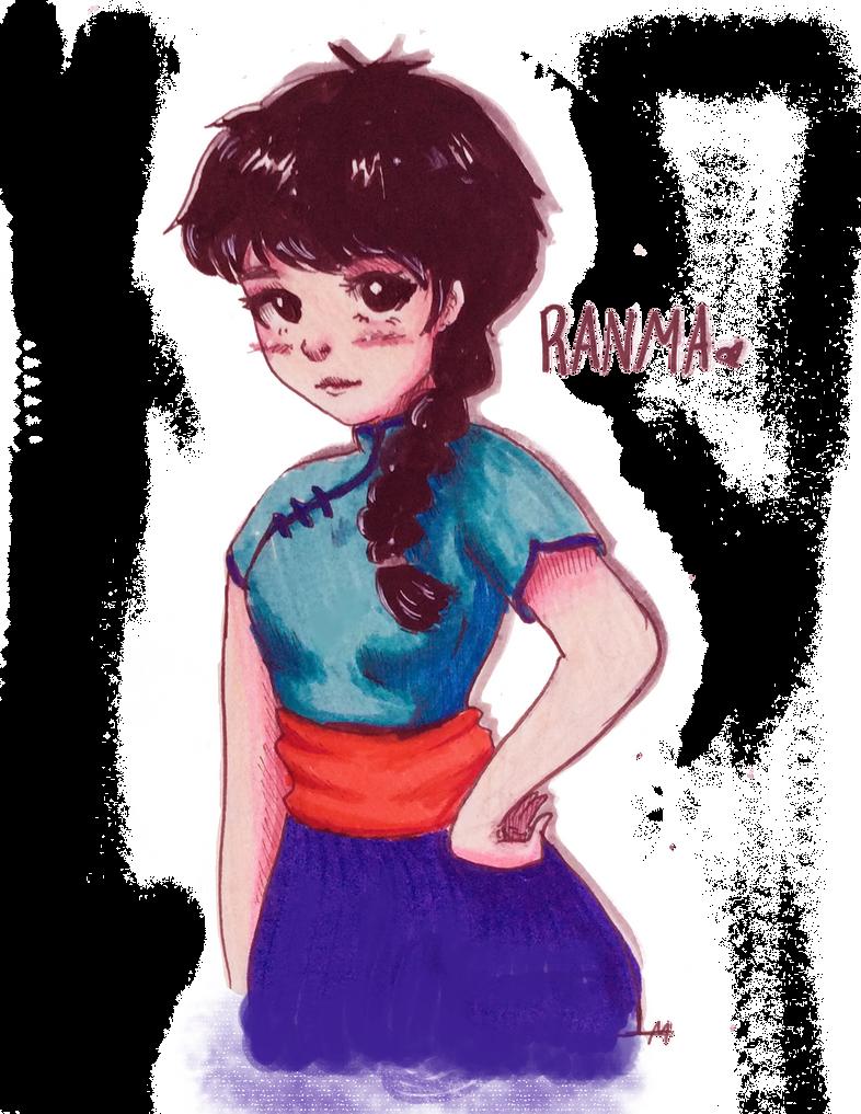 Ranma by Virusdrawss