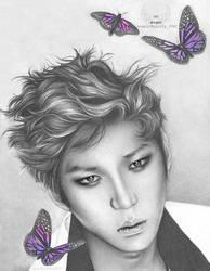 Mein Butterfly: Jung Taekwoon (VIXX) by ANGELOFPURITY1992