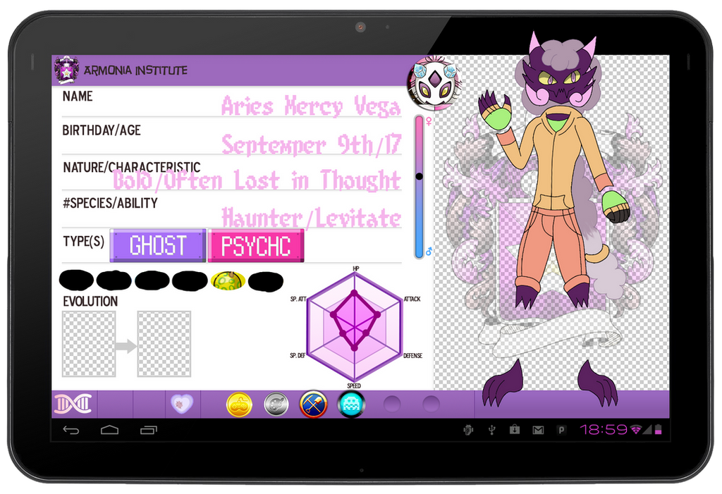 Pkmna Aries App By Greyninjear On Deviantart