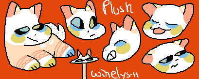 /Clown plush/Commission by Winelys-11
