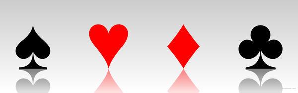 Spades Hearts Diamonds Clubs