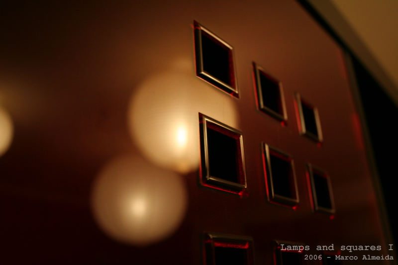 Lamps and squares I