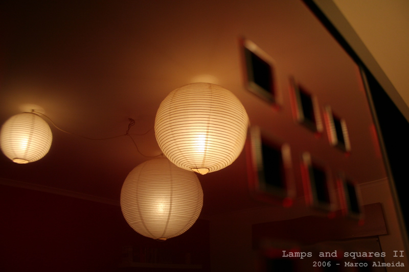 Lamps and squares II