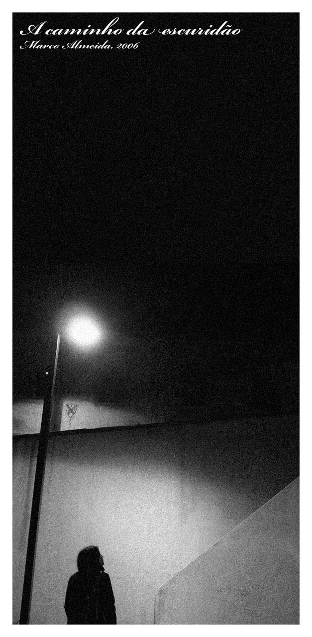 A caminho da escuridao