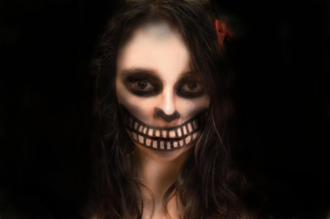 halloween makeup skull by key97 - Halloween Skull