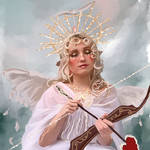 Sunshine Scott fan art: Angel of sunshine