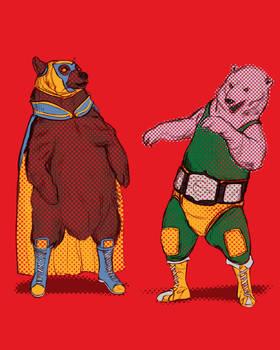 luchadore bears