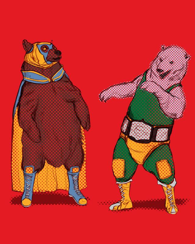 luchadore bears by cakeypigdog