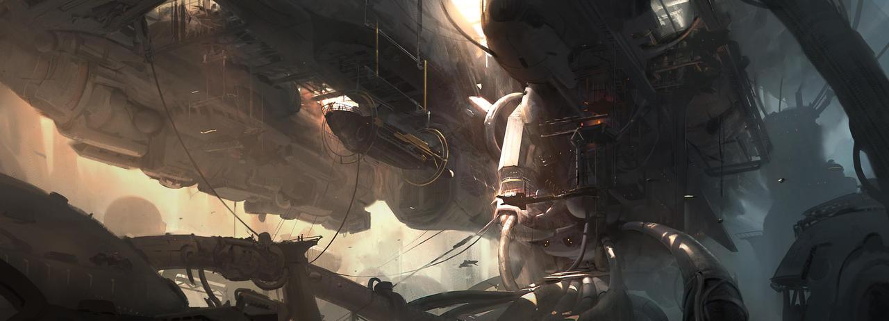 spacehulk mkII by cakeypigdog