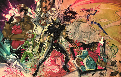 The X-Men. by Fezat1