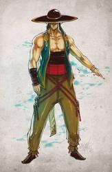 Kung Lao. 2010 by Fezat1