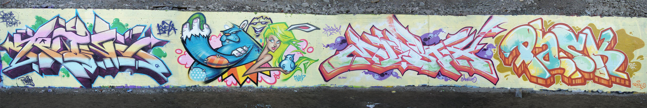 Easter Wall. by Fezat1