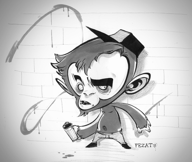MonkeyDo. by Fezat1