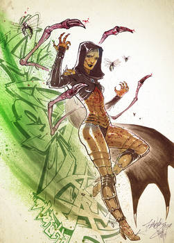 Swarm Queen D'Vorah. by Fezat1