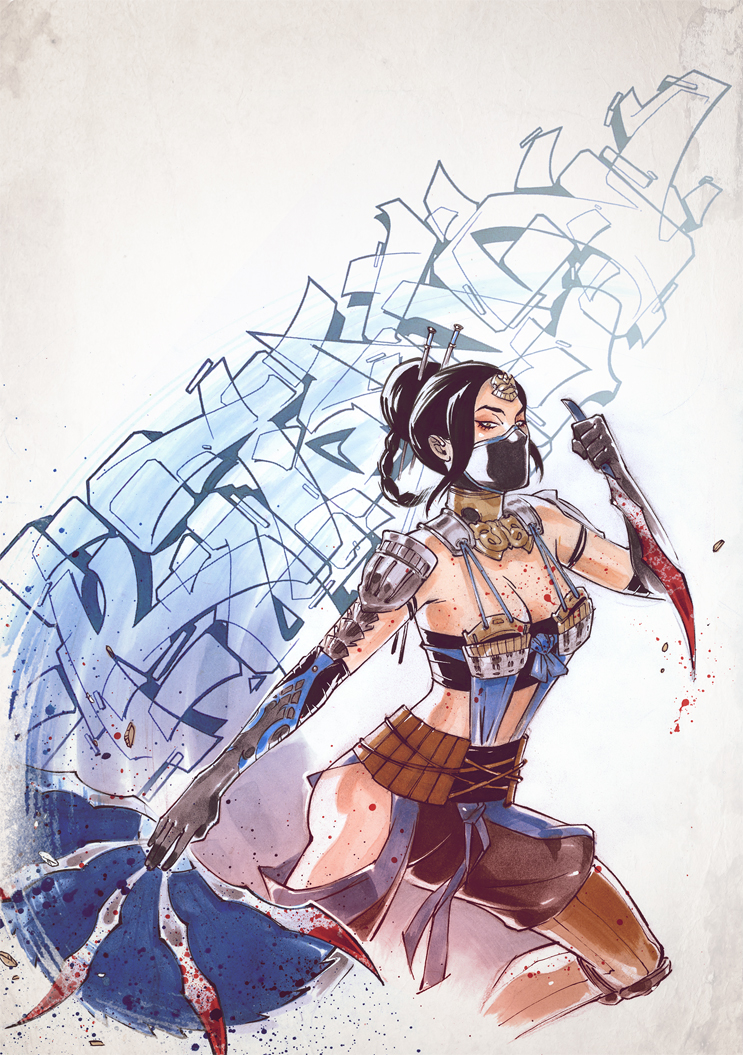 Assassin Kitana. by Fezat1