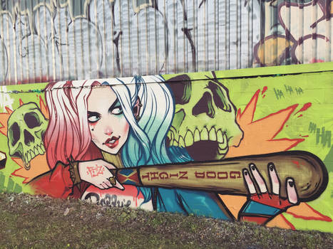 Suicide Squad Harley.