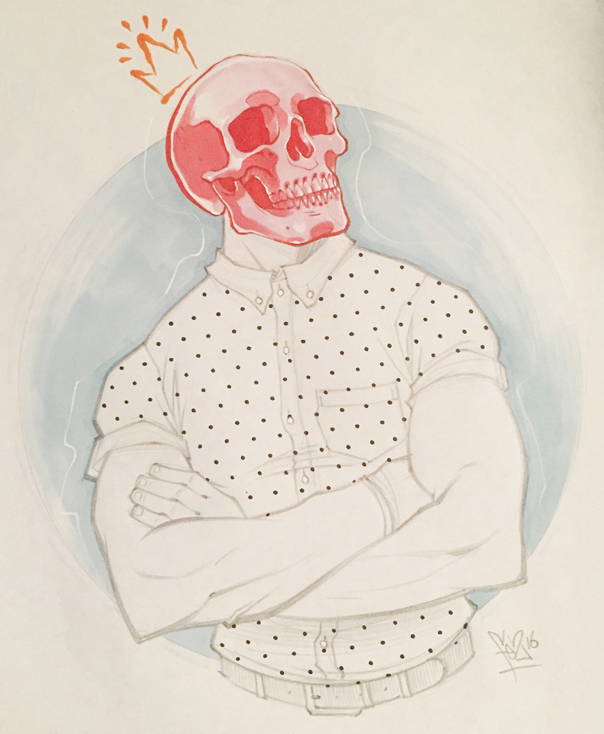 Skull Boy. by Fezat1
