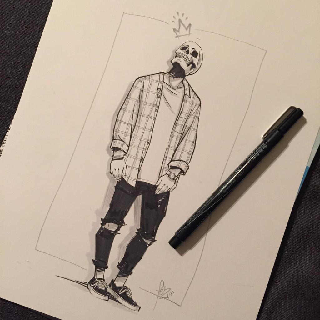 Skull Boy 2. by Fezat1