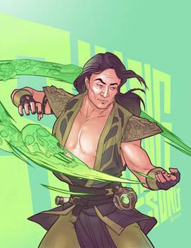 Sinister Sorcerer Shang Tsung.