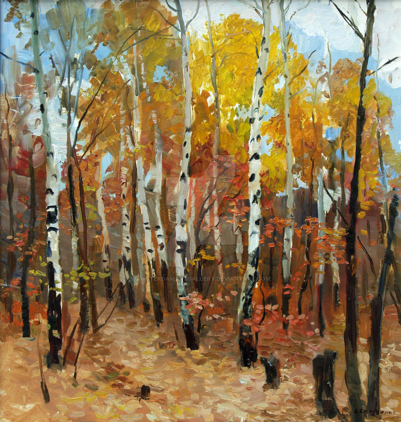 Birchwood by AmsterdamArtGallery