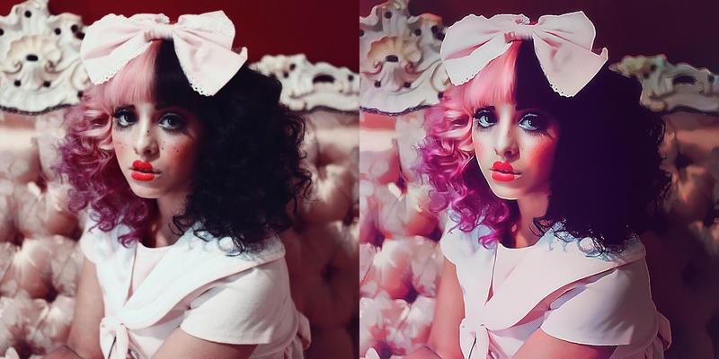 Melanie Martinez - Photo retouch by Rexionete