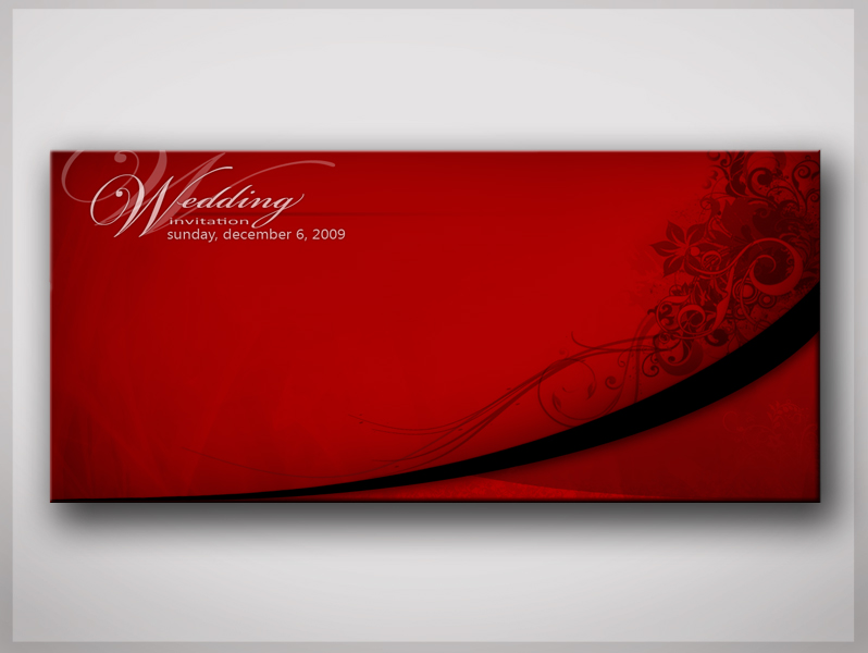 Wedding invitation by NorthFac3
