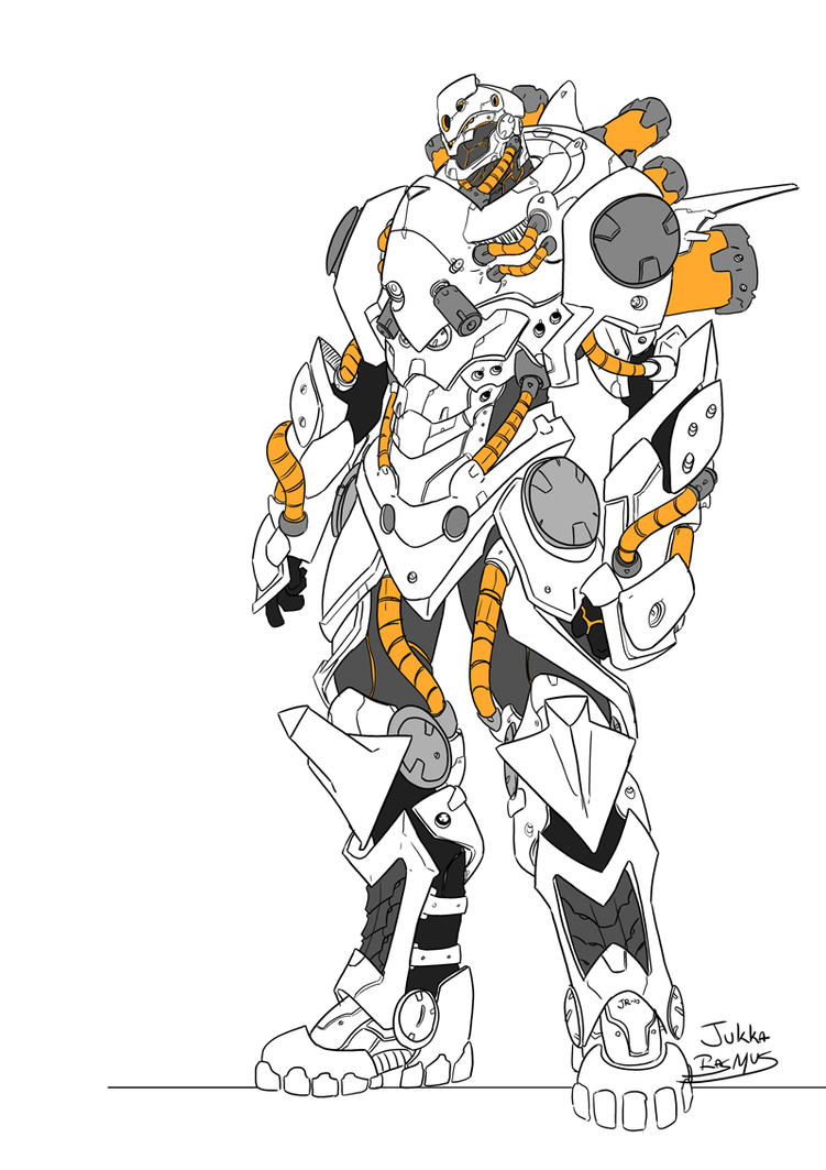 FireFall armor by GravedFish