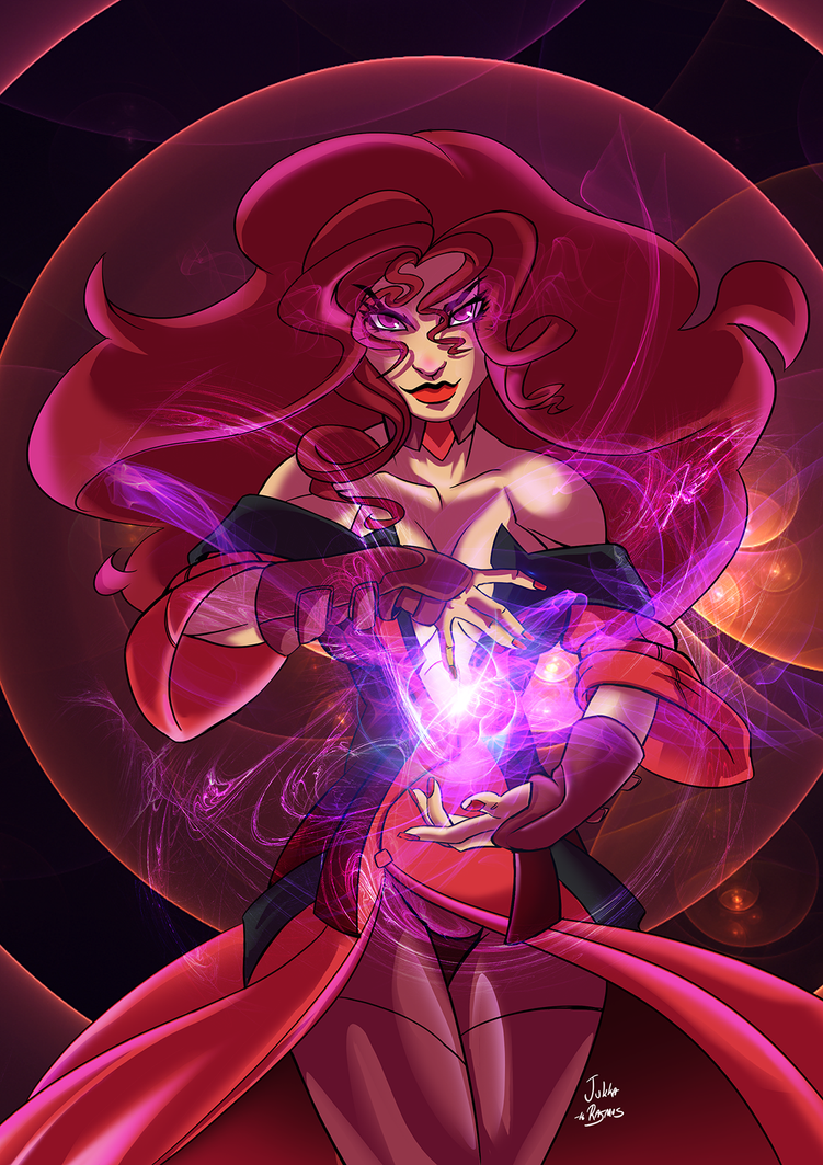 Scarlet Witch by GravedFish