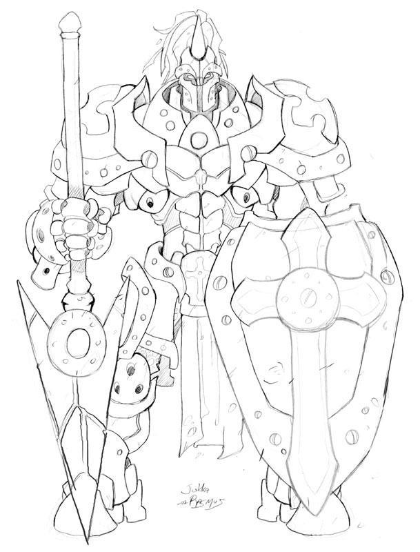 Chess - Knight by GravedFish