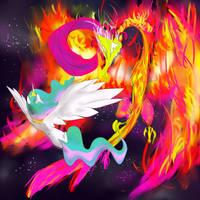 The Sun and the Phoenix King by NinRhusajha