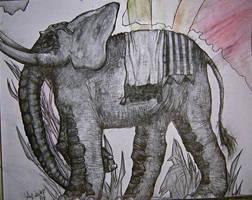 Rubolian Elephant by Ziali