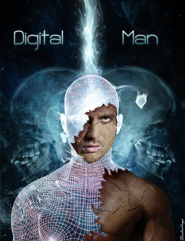 Digital Man by Shadowtuga