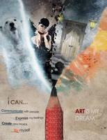 Art is my Dream by Shadowtuga