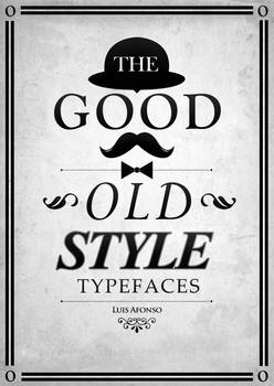 The Good Old Style Typefaces