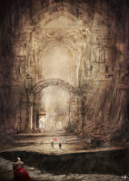 Ruins - Entrance by Shadowtuga