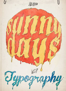 Sunny Days with Typography