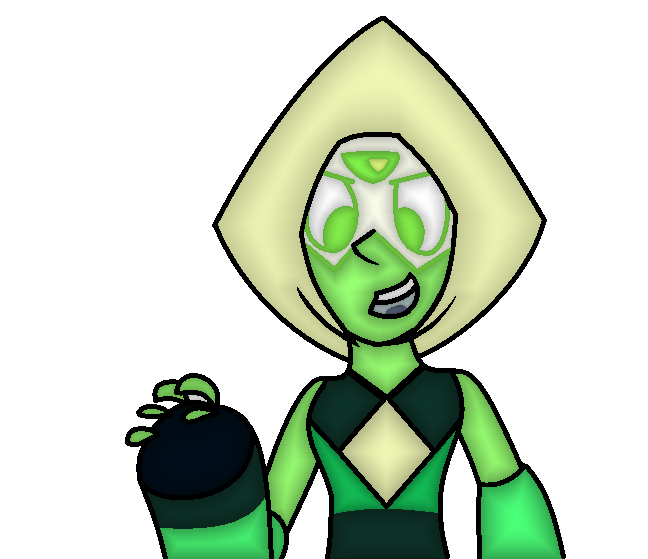 Peridot-Colored by xx-Chanour
