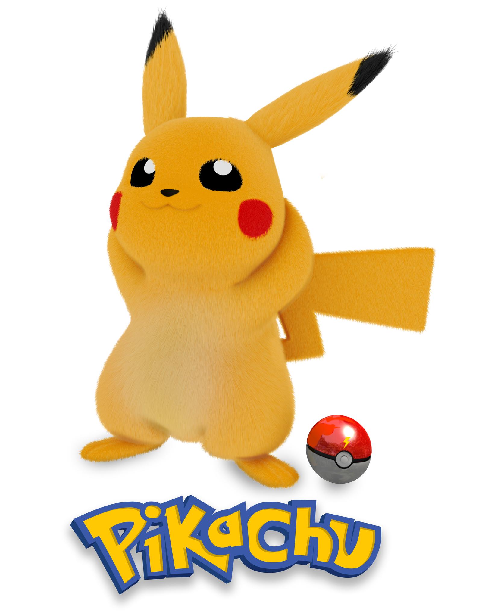 Pikachu 3d Poster 288977782