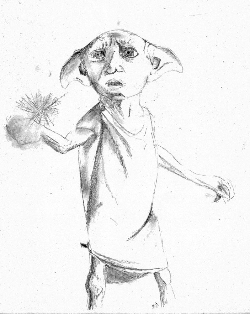 how to draw dobby camembert