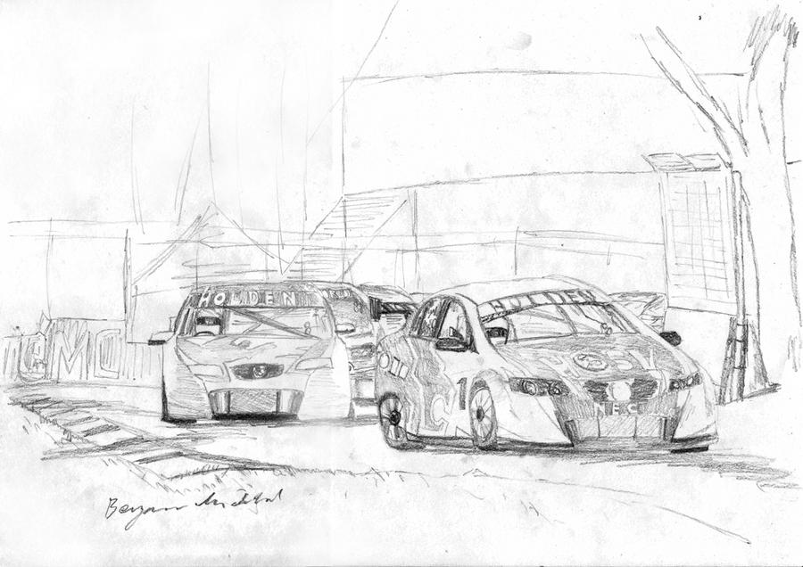 super car coloring pages - v8 supercars by bigfish22 on deviantart